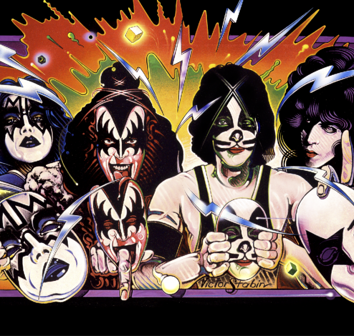 Kiss UnMasked Album Cover Poster by Victor Stabin