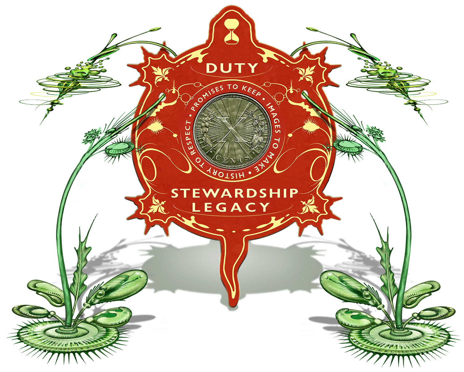 Duty Stewardship Legacy Tithing Logo