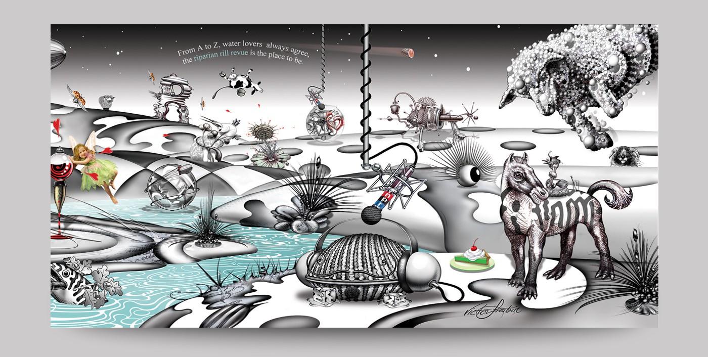 Daedal Doodle World Spread