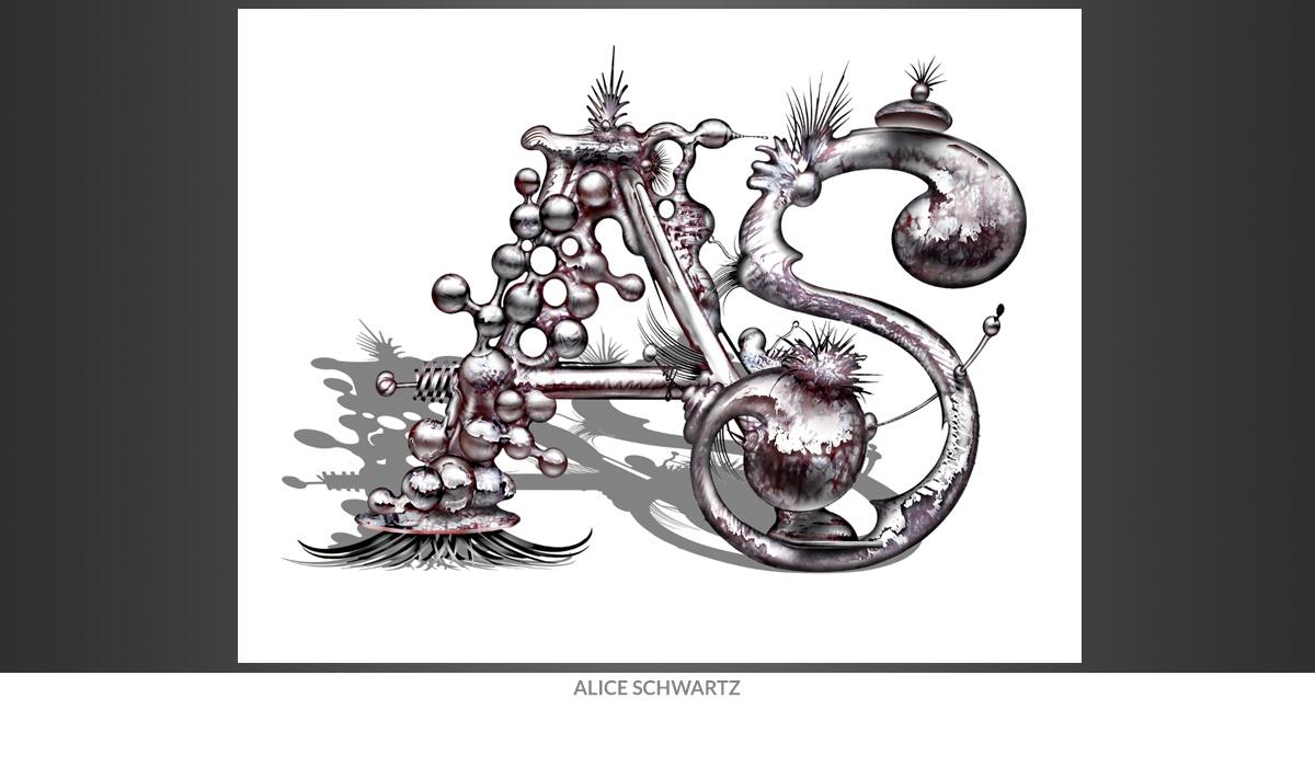 Alice Schwartz Initials