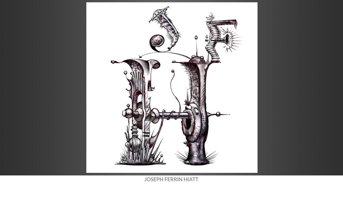 Joseph Ferren Hiatt Initials